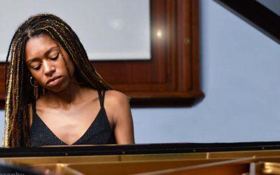 Isata plays London's Southbank