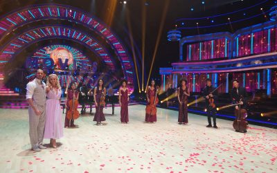 The family play on BBC's Strictly Come Dancing Remembrance Sunday show